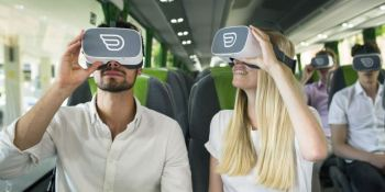 primera, experiencia, Europa, realidad virtual, autobuses, larga, distancia,