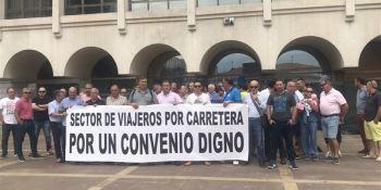 amenaza, huelga, transporte, viajeros, carretera, Cantabria,