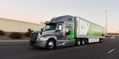 UPS; entregas, camión, autónomo, Arizona, TuSimple,