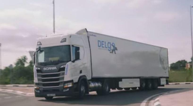 Delgo Transporte, apuesta, camiones, GNL, Scania, vídeo,
