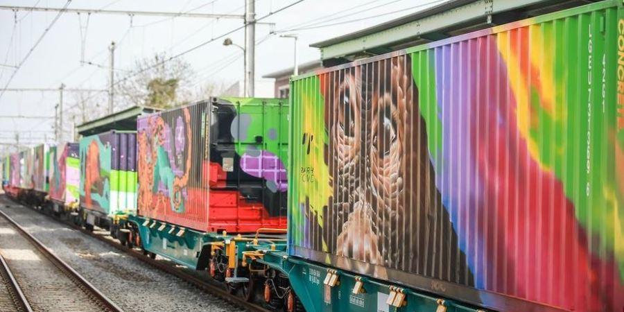 transporte, medio ambiente, tren, Noé, España,