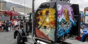 Barakaldo, camiones, concentración, curiosidades, fotos y vídeo,