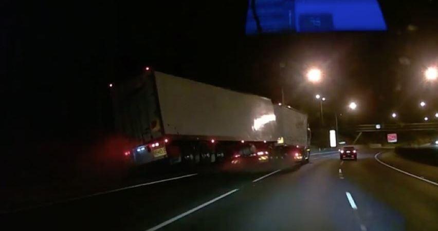 camionero, tudo, día, suerte, vídeo,