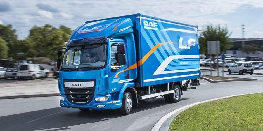 DAF LF, elegido, camión, ligero, año, República Checa,