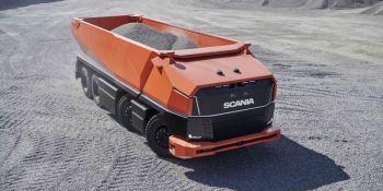Scania AXL, nuevo, camión, autónomo, cabina, fotos, vídeo,
