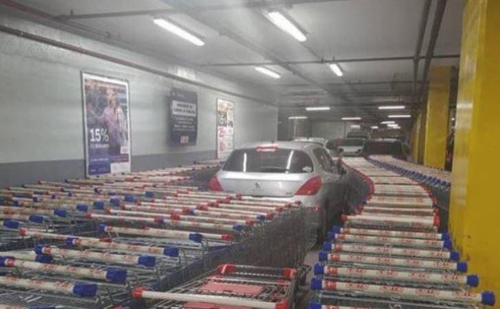supermercado, Argentina, coche, trabajadores, venganza,