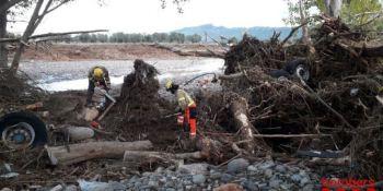 bomberos, buscan, camionero, belga, quinto, desaparecido, lluvias, torrenciales,