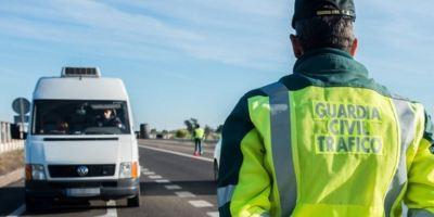 Nueva campaña de control a furgonetas de la DGT