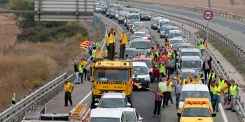 CETM. cortes, carreteras, Cataluña, transportistas,
