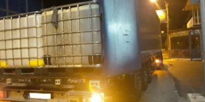 detenidos, camioneros, transporte, ilegal gasóleo, contrabando,