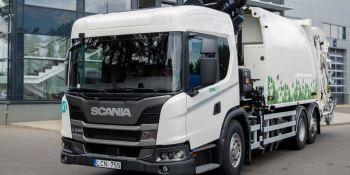 Scania, L 340, GNC, ciudades, estrechas, congestionadas,