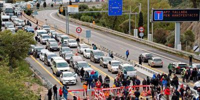 Fenadismer, acusa, gobierno, catalán, pasividad, connivencia, bloqueo, AP-7,
