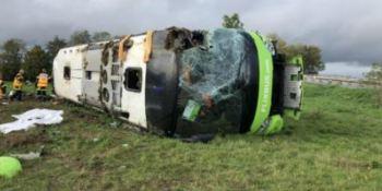 33 heridos, accidente, autobús, Francia, Flixbus,
