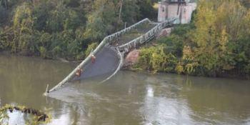 puente, derrumbado, Toulouse, fallecido, Francia, sucesos,