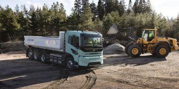 camiones eléctricos, Volvo Trucks, construcción, distribución,