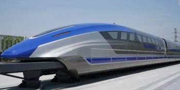 ZTE, China Telecom, tren, levitación magnética,