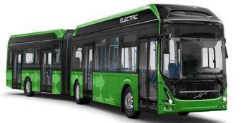60 autobuses, volvo electric, ciudad sueca, Malmö, ,