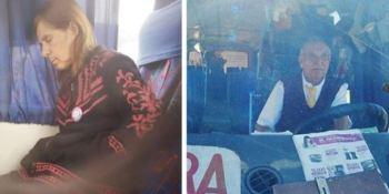 chófer, mujer enferma, autobús, trabajo, Chile,