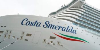 crucero, Costa Smeralda, bloqueado, Italia, cornavirus,