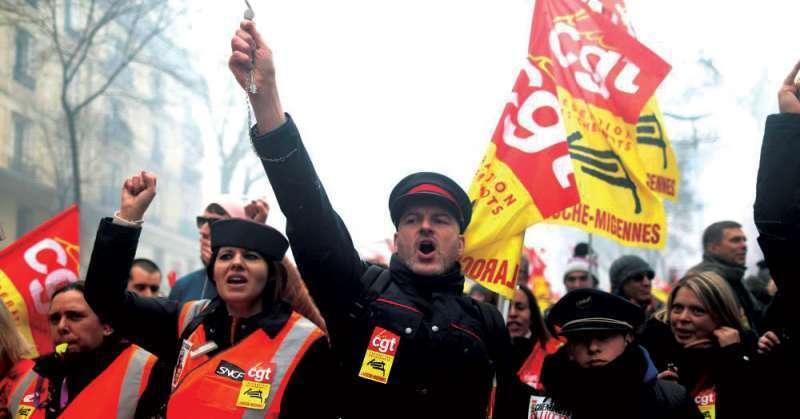 huelga, puertos, Francia, bloqueo,