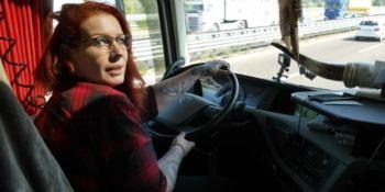 ZDF, televisión alemana, reportaje, vida camioneros,