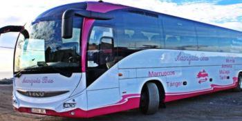Axarquía Bus, línea, Marruecos, Europa,