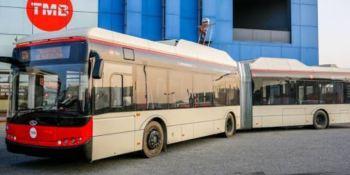 CAF, Solaris, autobuses, eléctricos, Barcelona,