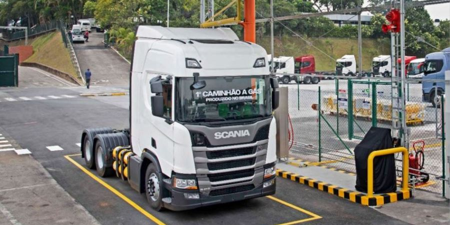 Scania, fabrica, camiones, gas, America Latina,