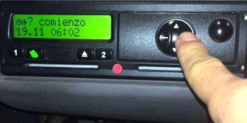 tacógrafo digital, selector de actividades, sanciones, profesión,
