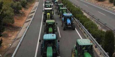 tractorada, mañana, provincia, Sevilla,