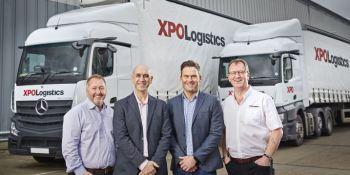 XPO Logistics, asocia, Mercedes-Benz, distribución, piezas, recambio, Reino Unido,