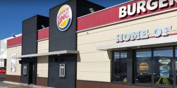 niegan, servir, camionero, Burger King,