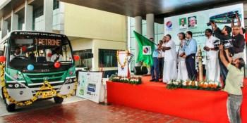 TATA Motors, presentación, autobús, GNL,