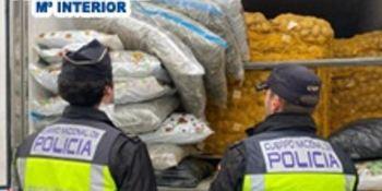 detenido, camionero, transportaba, 97,71 kg, marihuana,