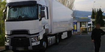 sancionado, camionero, 2.750 €, duplicar, velocidad, máxima,