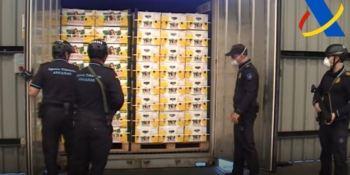 incautados, 1.100 kilos, cocaína, puerto, Bilbao, vídeo,