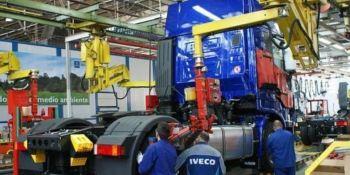 Iveco, fábricas, Valladolid y Madrid, abril,