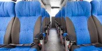 En agosto, el transporte discrecional desciende un 85,9%