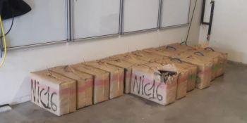 incautan, 552 kilos, resina cannabis, camión, español,