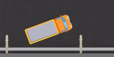 Realizar maniobra de estacionamiento para el carnet de camión