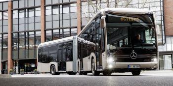 autobús, articulado, eléctrico, Mercedes Benz eCitaro