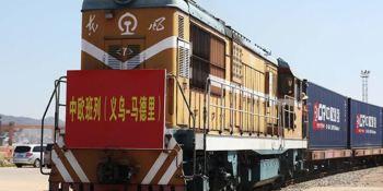 servicio trenes, China-Europa, Yiwu, crece, 72%,