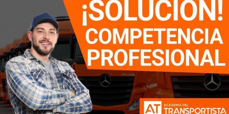 ¿Sabes cómo obtener la competencia profesional en el transporte?