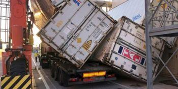La seguridad y salud de los conductores dentro de las terminales del Puerto de Valencia.