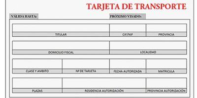 Confusión por el visado de las autorizaciones de transporte