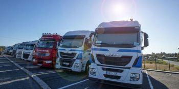 Falta de plazas de parking para camiones, un grave problema del transporte europeo