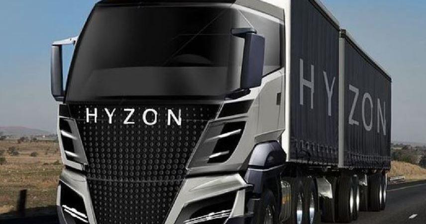 HYZON Motors y ReCarbon producirán camiones ecológicos impulsados por hidrógeno