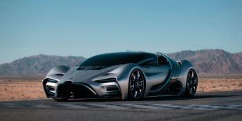 Presentan en California prototipo de superdeportivo a hidrógeno