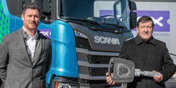 Scania entregó el primer camión a gas natural en Argentina