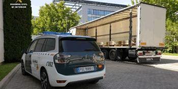 Esclarecidos robo de camiones y naves industriales